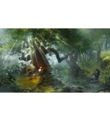 Blackfire Play Mat - Svetlin Velinov Edition - Forest